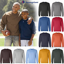 Champion Mens Crewneck Sweatshirt  Mens Pullover Sweater S-3XL Sizes  S600