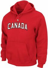 Canada World Baseball Classic Majestic Pull Over Hoodie Sweatshirt Adult Sizes