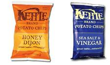 Snack: Kettle Potato Chips Sea Salt & Vinegar/ Honey Dijon Flavor, 56g