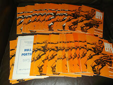 Hull City home programmes 1966/67 - 67/68