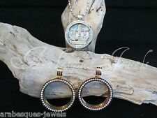 SMALL MI MILANO KEEPER/CARRIER/LOCKET FOR COIN/MONEDA NECKLACE/PENDANT/CRYSTAL