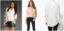 Equipment Signature & Slim Silk blouse Shirt Nature & Bright White/Nude/Dune