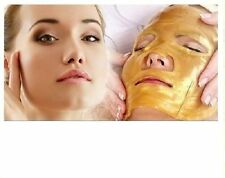 5 pcs X COLLAGEN GOLD CRYSTAL FACE MASKS also available gold eye masks