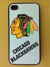 Apple iPhone 5 / 5S Rubber Case Skin Cover Chicago Blackhawks New Perfect Gift