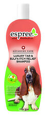 Dog Care Luxury Tar & Sulfa Itch Relief Therapeutic Remedy Shampoo Cherry