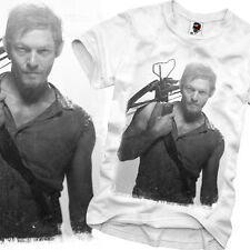 E1SYNDICATE T SHIRT THE WALKING DEAD ZOMBIE DARYL DIXON DVD SERIE TV S/M/L/X