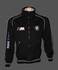 BMW fleece jacket / jacke / parka / blouson - embroidered logos / M power /