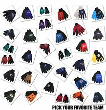 NFL Team Logo Gloves General Purpose Non Slip Pick Your Team Free Shipping