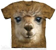 Big Face Alpaca The Mountain Adult & Child Size T-Shirts