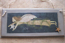 Christmas wooden plaques/signs hanging decoration santa angel christmas tree