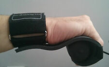 Newgrip padded rowing sculling gloves grips with detachable wrist strap wrap.