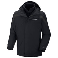 COLUMBIA MENS 3 IN 1 EAGER AIR INTERCHANGE  JACKET/COAT/PARKA REMOVABLE LINER