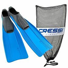 Cressi Clio Full Foot Snorkeling Swim Fin, Adult
