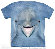 Dolphin  Face The Mountain Adult & Child Size T-Shirts