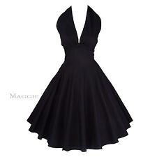 Maggie Tang 50s 60s Vintage Swing Rockabilly Petticoat Dress Ball Gown 504BK