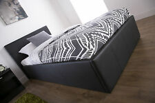 Ottoman Storage Bed 3FT 4FT 4FT6 5FT 3 Colours With Memory Foam Mattress Option