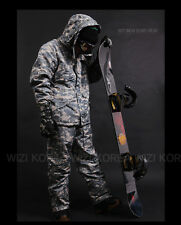 Men's Winter Waterproof Ski-Snowboard US Military Wear(Gray, Size-S~2XL)