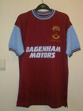 Bnwt West Ham United Home SS Retro 1994 Bobby Moore Memorial Match Shirt 6 Back