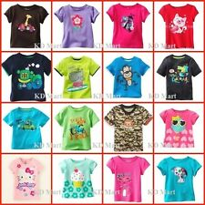 """New""""Jumping Beans"""" Boys Girls Clothes Shortsleeve Top T-Shirt  Size0,1,2,3,4,5,6"""