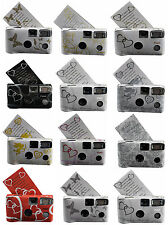 10 Wedding Disposable Cameras With Many Different  Designs to Choose 35mm,24exp