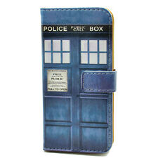 Doctor Who Tardis Wallet Card Flip Leather Pouch Case For iphone 4 4S 5 5S 5C