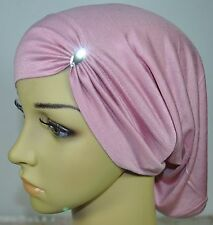 Very Comfortable Cotton Lycra Under Scarf hijab Tube Swarovski Turban Multicolor