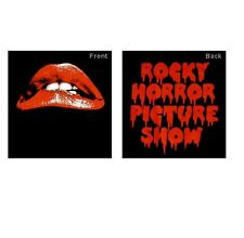 Movie/TV Tee ROCKY HORROR PICTURE SHOW - FULL COLOUR LIPS