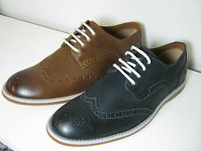 Mens Clarks Farli Limit Leather Smart Brogue Style Shoes G Fitting