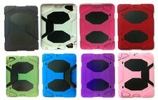 Extreme-Duty Hybrid Case With Stand Up Clip + Screen Protector For iPAD 2,3,4!