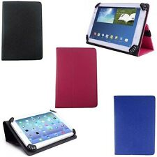 Universal Adjustable Flip Leather Folio Stand Case for Le Pan II Tablet