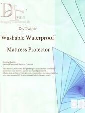 Extra Deep Washable Waterproof Quilted Mattress Protector Deep Bed Cover