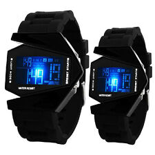 Light Digital Sports Mens Quartz Silicone LED Wrist Watch Mens Boys Watches