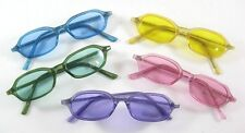 Colorful New Tinted Lens Sunglasses In Assorted Colors UV400