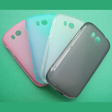 4color Case Cover Tasche Schale Hülle MEDION LIFE MD 98500 E4001 Smartphone 4""