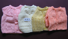 Woolen Hand Knitted Set - Cardigan, Cap & Socks for Baby