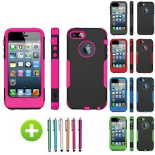 For Apple iPhone 5 5G Trident Aegis Rugged Protective Case Cover Shell w/ Film