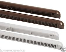 Trickle Vent Slot Vents 300mm or 400mm Night Ventilation. UPVC & Wooden Windows