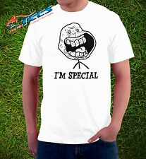 New MEME Tee Im Special  Funny Humor Troll Face T-shirt Adult Sizes