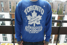 Toronto Hockey-Varsity College NHL Canadian Leafs Sports Blue Sweater Jumper