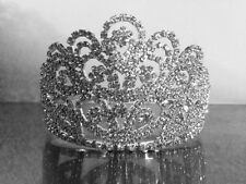Sparkling Fine Diamante Bridal Tiara Wedding Prom Crown (t1) - fabulous Darling!