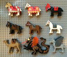 Lego Animal Mini Figures To Choose From - Horses / Dragons / Camel ETC