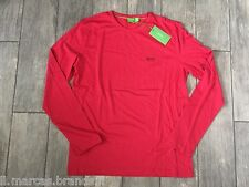 HUGO BOSS Mens Long Sleeved Crew Neck T-Shirt TOGN by BOSS Green - New With Tags