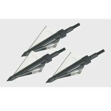 3 Blades Broadhead  Sharp Hunting Tip for Crossbow 150/180 Lbs Bolts & Arrows