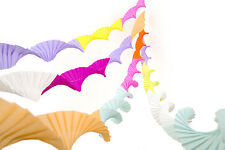 4 CREPE PAPER CHRISTMAS PARTY CEILING  DECORATIONS GARLANDS STREAMERS