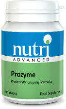 Nutri Advanced Prozyme Proteolytic Enzyme Injury Muscle Tissue Repair 120 Tabs