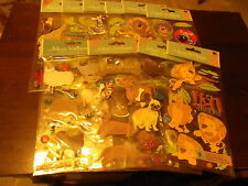 Jolees Large size pack animal  themed  stickers