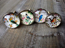Vintage Style Bird Drawer Knobs  Cupboard Door Handle Pull Handles Knob Pull