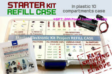 Starter Electronic Kit Project REFILL CASE [In plastic case 10 comp] EUROPE Ship