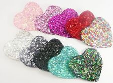 Heart-shaped Sparkly Sequin Coin Purse 10 Colours-Accessorize in Style Under £5
