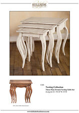 Hand made Custom Nesting tables Hillside Furniture Co.   $3,150.00
